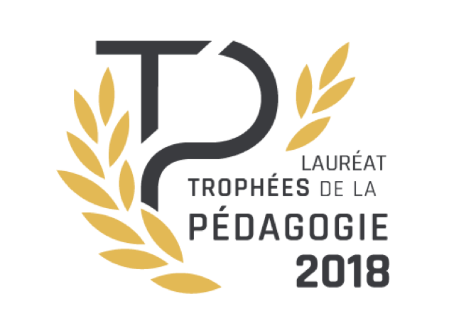 Lauréat – Trophées de la pédagogie 2018