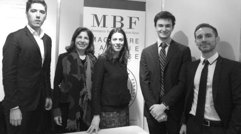 Le MBF et le Master TFB présents au salon SMBG et forum d'Assas