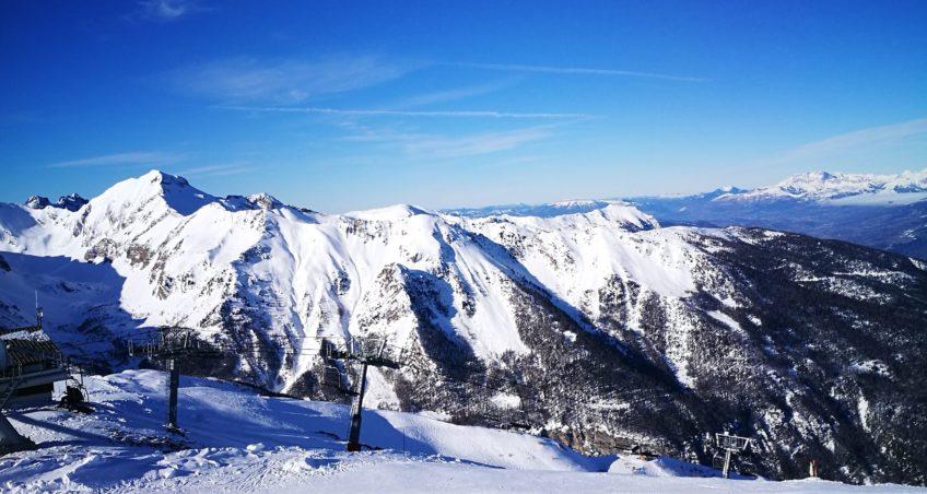 Voyage au ski : station «Les Orres»