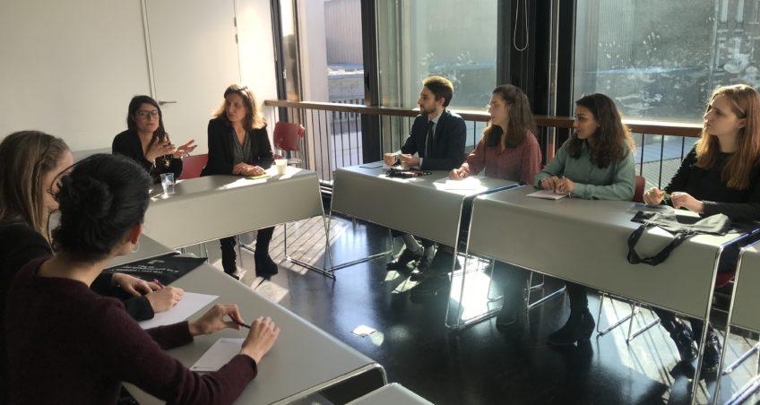 Job meeting avec la BNP Paribas